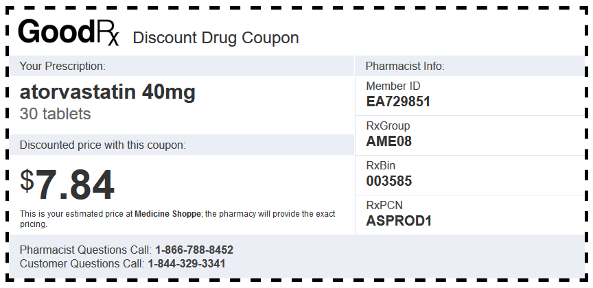 Discount Coupon from Good Rx