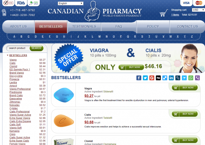 Copy of 144 Online Canadian Pharmacies