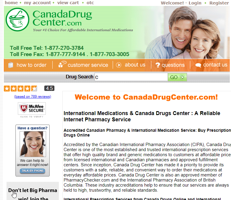 Canada Drug Center: Can You Really Trust This Pharmacy?