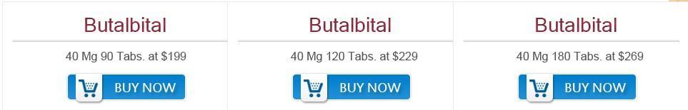 Butalbital Price