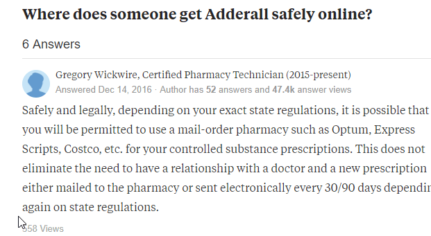 Get Adderall Safely Online